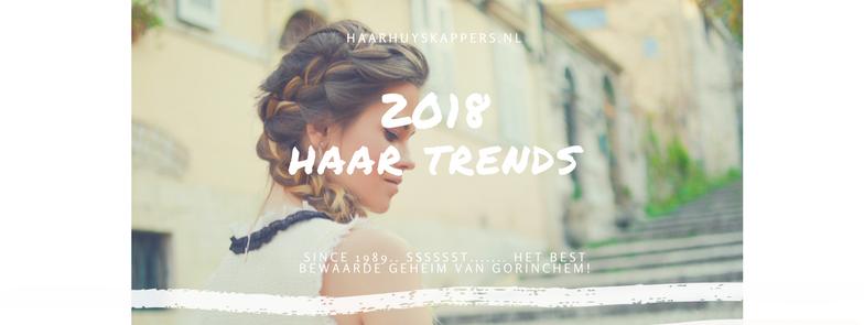 Haar trends in 2018