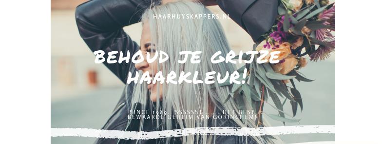 Behoud je grijze haarkleur!