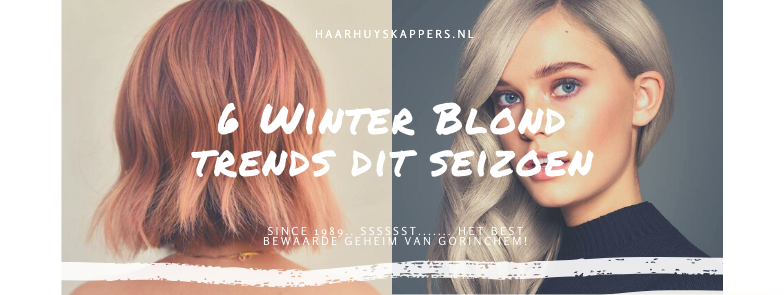6 Winter Blond trends dit seizoen